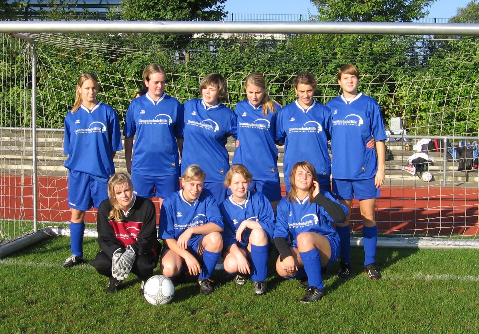 Madchen Fussball Verbundschule Hille