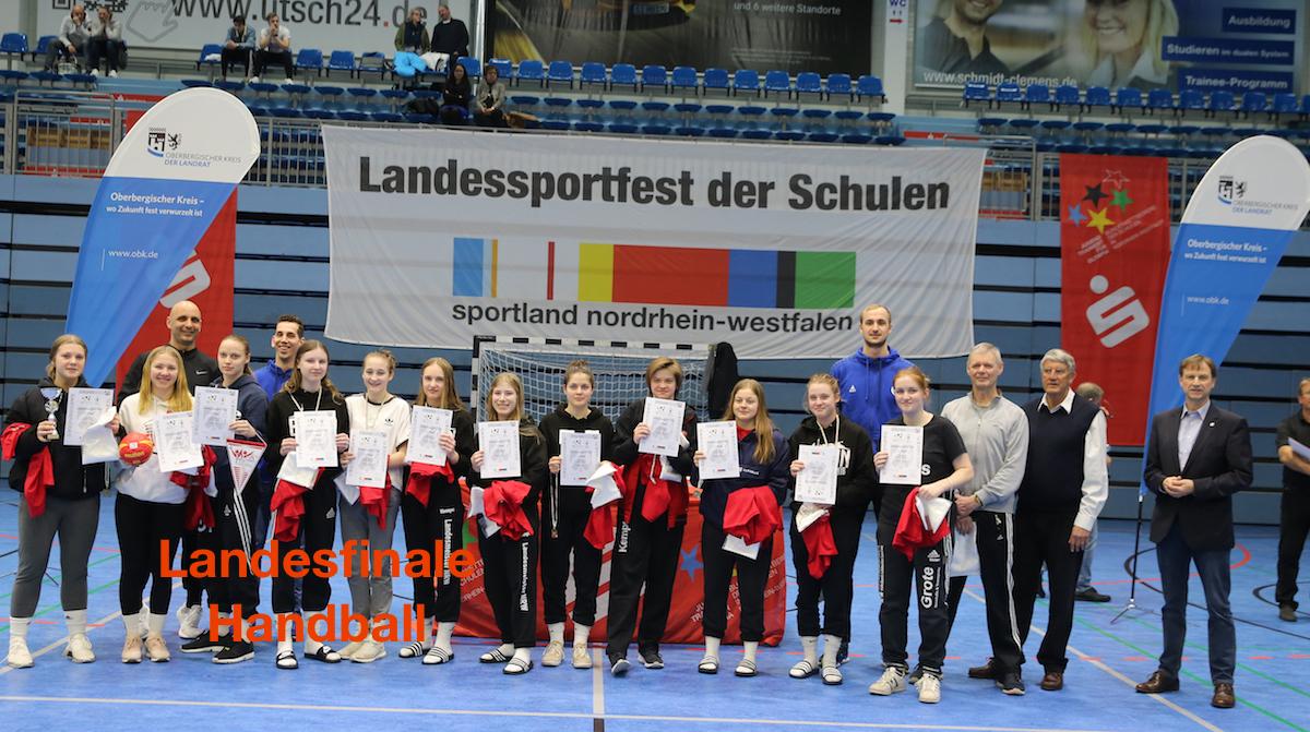 JTFO, Landesschulmeisterschaften Handball Mädchen